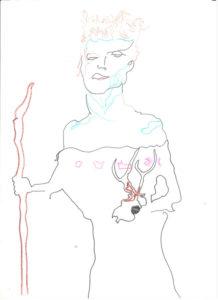 Zdjęcie pracy: Marta as a Witch