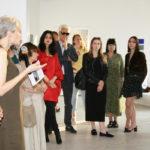 Zdjęcie z wernisażu wystawy Płynna Pamięć Marco Angeliniego