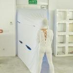 Zdjęcie z wernisażu wystawy Pneuma Izabeli Chamczyk