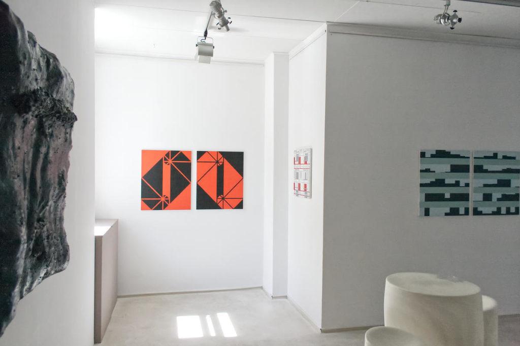 Zdjęcie sali z wystawy Równość