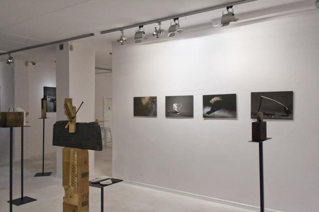 Zdjęcie sali z wystawy Katarzyny Jarnuszkiewicz