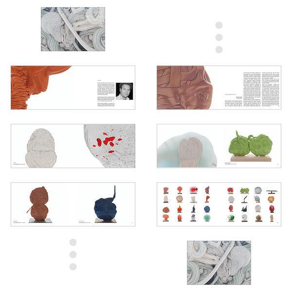 Album do wystawy Toma Aureliusa Diericka – przykładowe strony