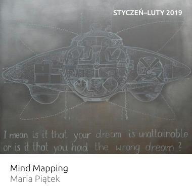 Wystawa Mind Mapping – Maria Piątek