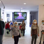 Zdjęcie z wernisażu wystawy Resurrection of Plastics Aureliusa