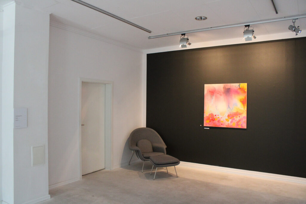 Zdjęcie sali z wystawy Rafała Bakalarczyka Przestrzenie tracone